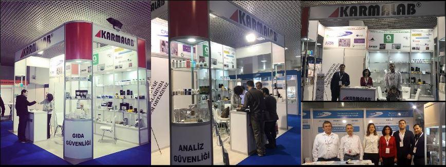 Turkchem ChemLab Eurasia 2018 Fuarındaydık…